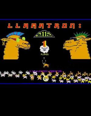 Llamatron: 2112 DOS front cover