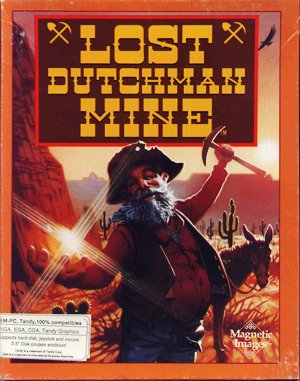 Lost Dutchman Mine DOS front cover