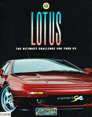 Lotus: The Ultimate Challenge DOS front cover