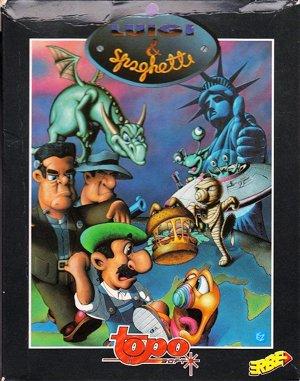 Luigi & Spaghetti DOS front cover