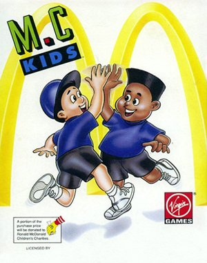 M.C. Kids DOS front cover