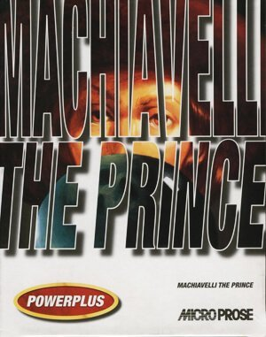 Machiavelli: The Prince DOS front cover