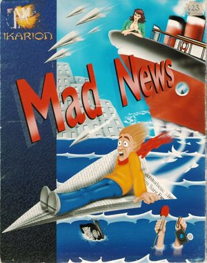 Mad News DOS front cover