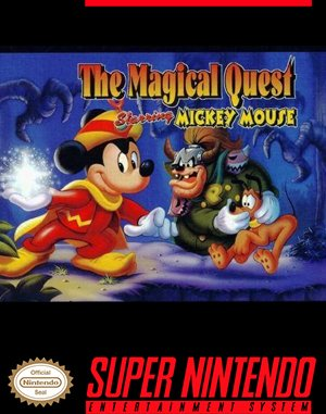 The Magical Quest Starring Mickey Mouse SNES front cover