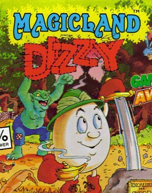 Magicland Dizzy DOS front cover