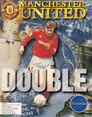Manchester United: The Double DOS front cover