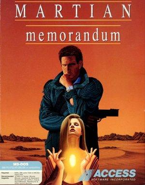 Martian Memorandum DOS front cover