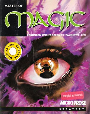 Master Of Magic Enhanced DOS front cover