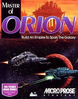 Master of Orion DOS front cover