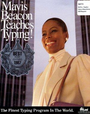 Mavis Beacon Teaches Typing! DOS front cover