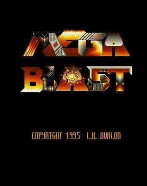 Mega Blast DOS front cover