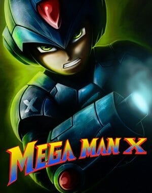 Mega Man X DOS front cover
