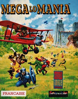 Mega lo Mania DOS front cover