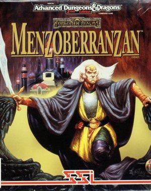 Menzoberranzan DOS front cover
