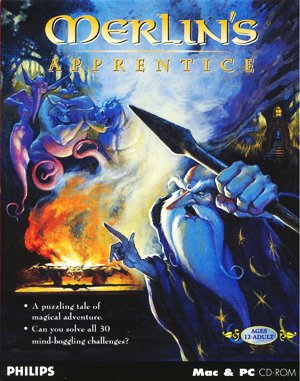 Merlin's Apprentice DOS front cover