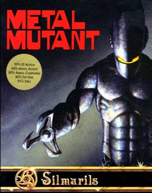 Metal Mutant DOS front cover