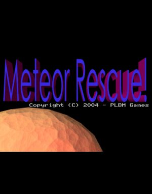 Meteor Rescue DOS front cover