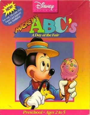 Mickey's ABC's: A Day at the Fair DOS front cover