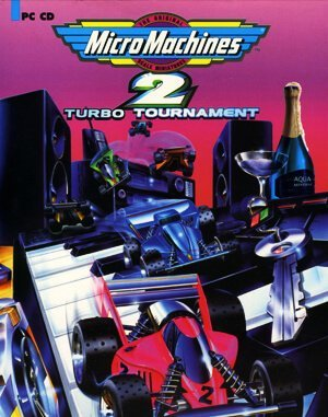 Micro Machines 2 DOS front cover
