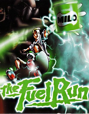 Milo the Fuel Run DOS front cover