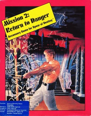 Mission 2 Return to Danger – Accessory Game for Spear of Destiny DOS front cover