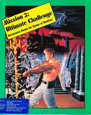 Mission 3 Ultimate Challenge – Accessory Game for Spear of Destiny DOS front cover