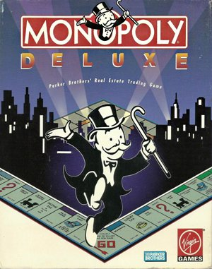 Monopoly Deluxe DOS front cover