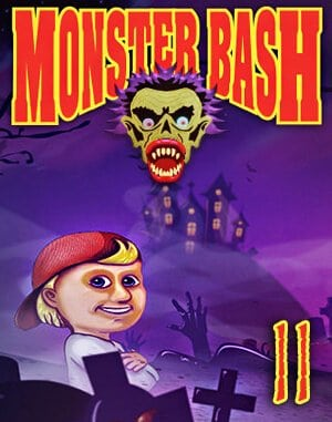 Monster Bash II DOS front cover