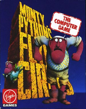 Monty Python's Flying Circus DOS front cover
