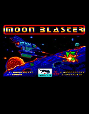 Moon Blaster DOS front cover