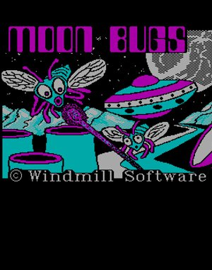 Moon Bugs DOS front cover