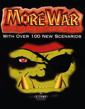 More War: The Return Of The Horde DOS front cover