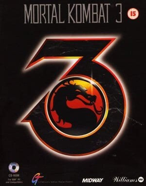 Mortal Kombat 3 DOS front cover