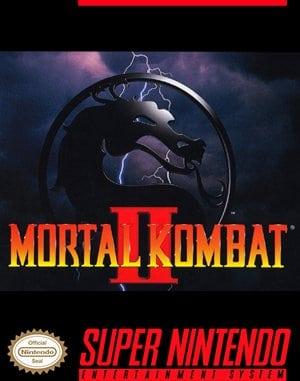 Mortal Kombat II SNES front cover