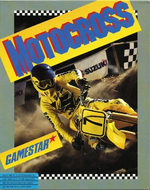 Motocross DOS front cover