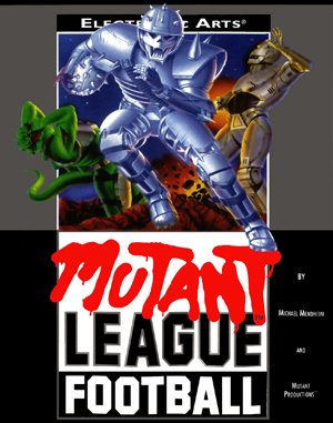 Mutant League Football Sega Genesis front cover