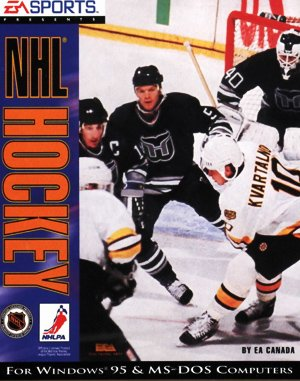 NHL '94 DOS front cover