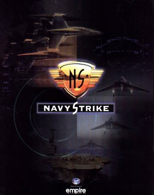 Navy Strike DOS front cover