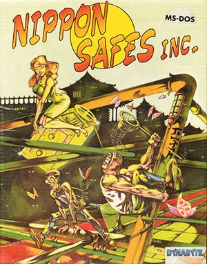 Nippon Safes, Inc. DOS front cover