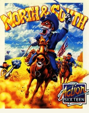 North & South DOS front cover
