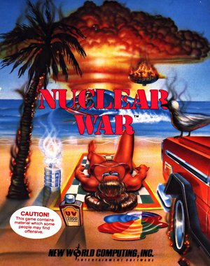Nuclear War DOS front cover