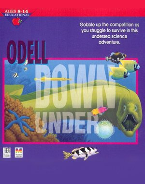 Odell Down Under DOS front cover