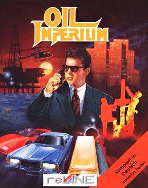 Oil Imperium DOS front cover