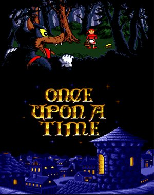 Once Upon A Time: Little Red Riding Hood DOS front cover