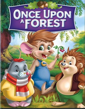 Once Upon a Forest DOS front cover