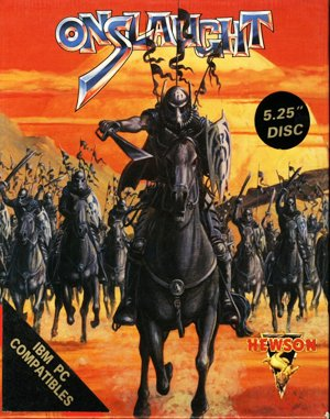 Onslaught DOS front cover