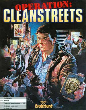 Operation: Cleanstreets DOS front cover