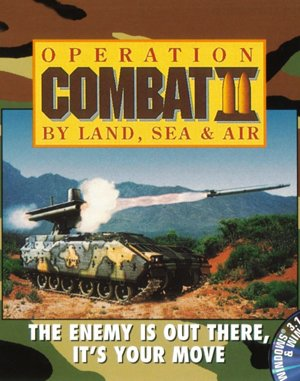 Operation Combat II: By Land, Sea & Air DOS front cover