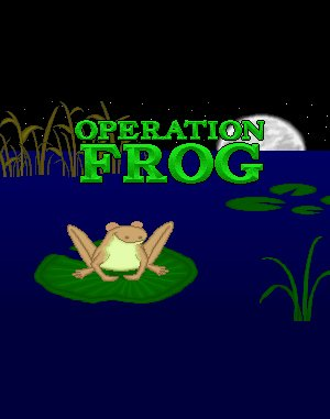 Operation: Frog DOS front cover