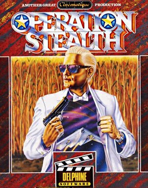 Operation Stealth DOS front cover